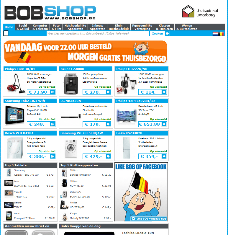 Bobshop.be